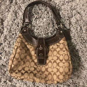 Coach Brown Medium Shoulder Bag